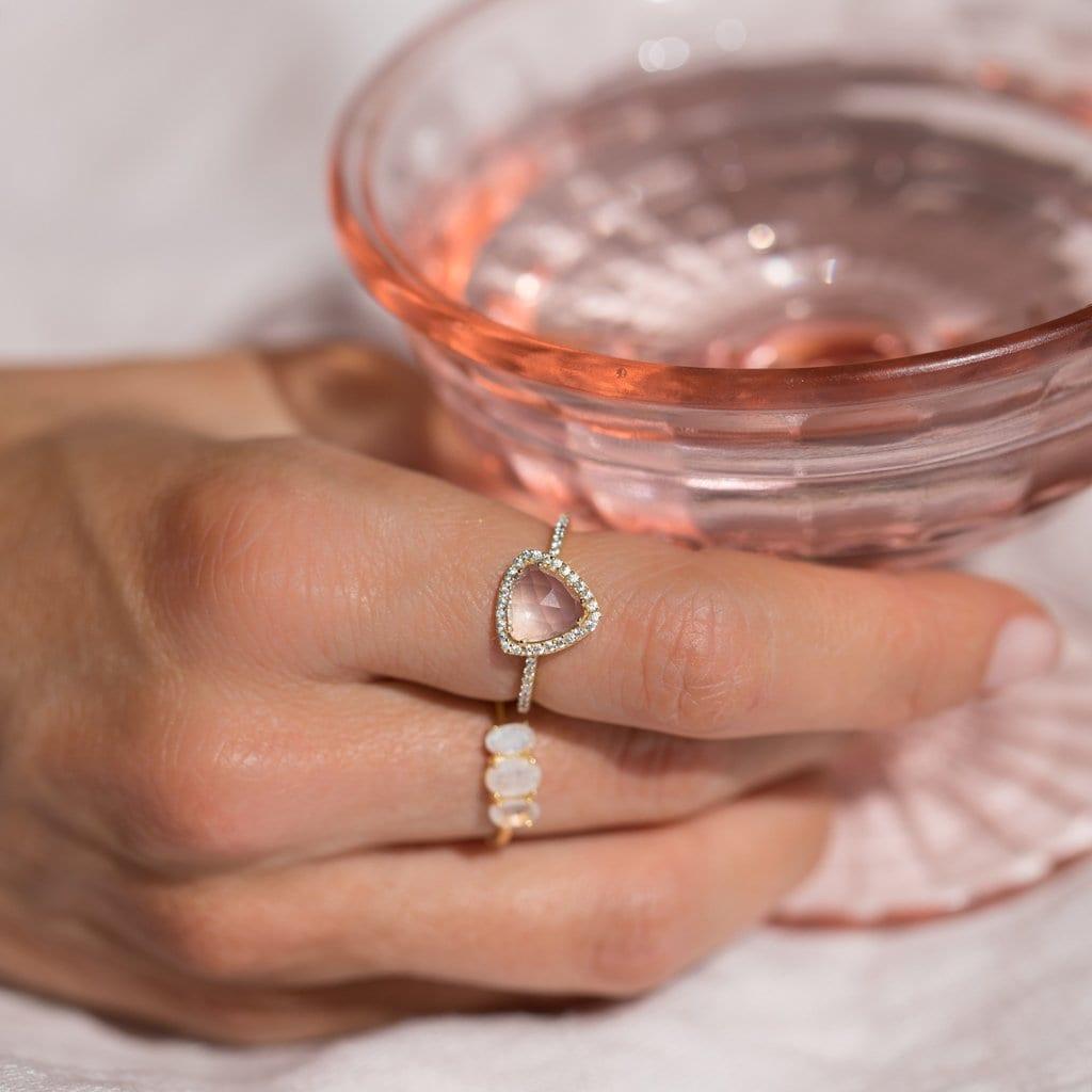 Trielle Ring Bijou Pink