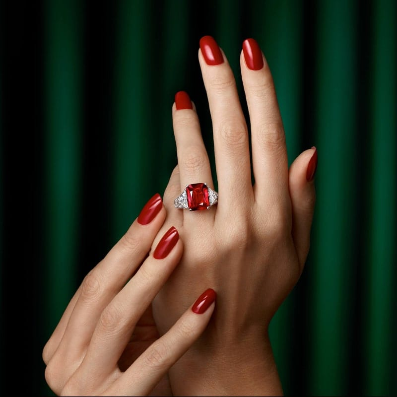 A Graff ruby and diamond high jewellery ring 1 min